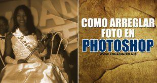 como editar foto en photoshop