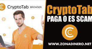 CryptoTab Paga Bitcoins