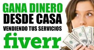 Cómo ganar dinero desde casa con Fiverr
