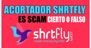 Acortador Shrtfly es scam - Cierto o Falso