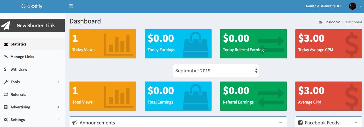 ClicksFly prueba de pago