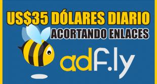 Cómo ganar dinero con ADFLY - $35 DÓLARES POR PAYPAL