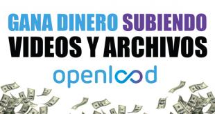 Ganar dinero subiendo archivos en Openload