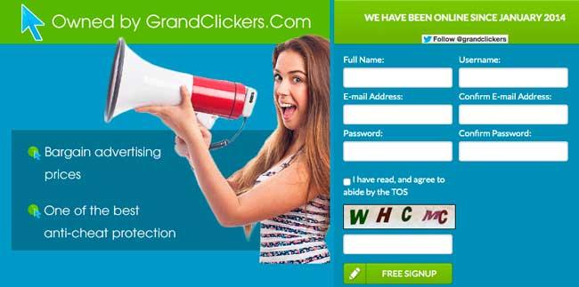 GrandClick es scam