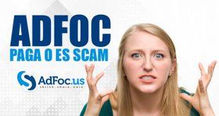 AdFoc Paga o es Scam
