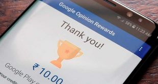 Google Opinion Rewards paga