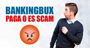 BankingBux Paga o es Scam