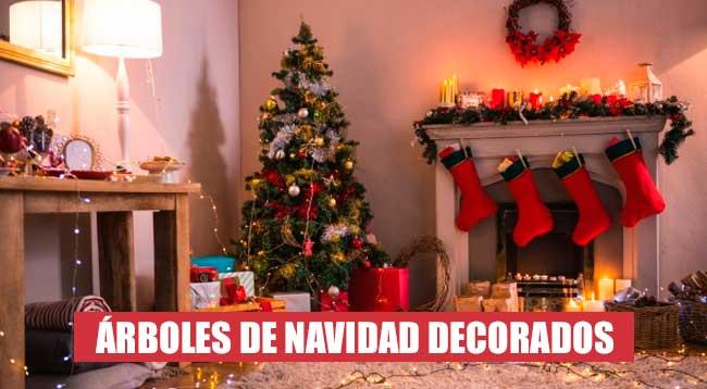 Comprar Árboles de Navidad Decorados