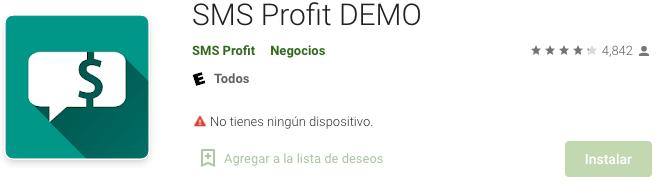 SMS Profit