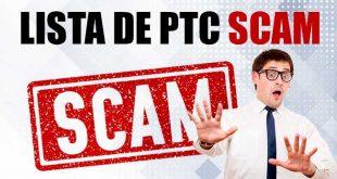 Lista de PTC SCAM