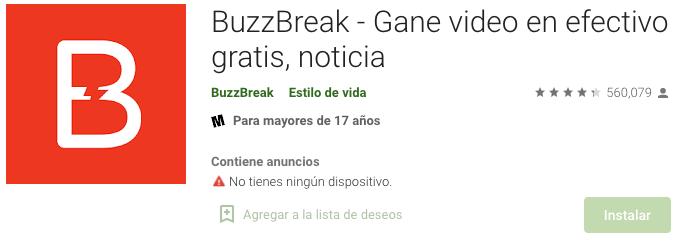 BuzzBreak Paga